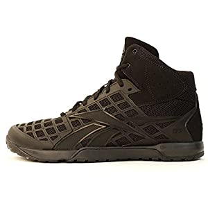 Reebok Mens CrossFit Nano 3.0 Mid Black Athletic Shoes M