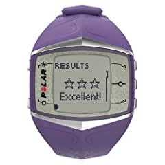 Polar FT60 Heart Rate Monitor, Lilac by Polar