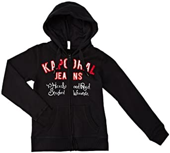 Kaporal - Sweat-shirt à capuche - fille - noir (black) - 10 ans