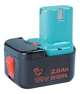 Hitachi EB 1226HL Batterie NiMH 12 V/2,6 Ah