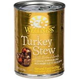 Wellness Turkey Stew with Barley &amp; Carrots Canned Dog Food