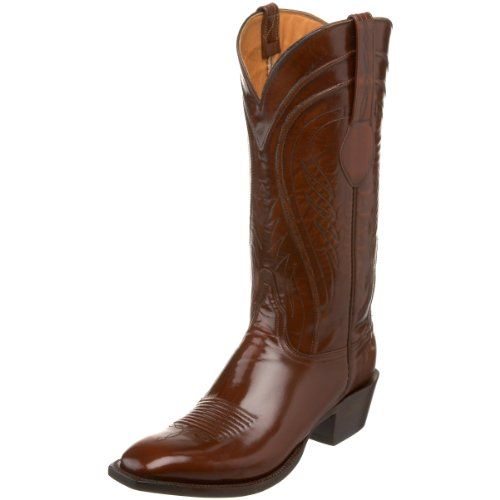 Lucchese Classics Men's L1506.14 Western Boot,Tan Goat,11.5 EE US