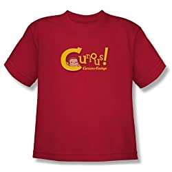 Curious George Curious Youth T-Shirt