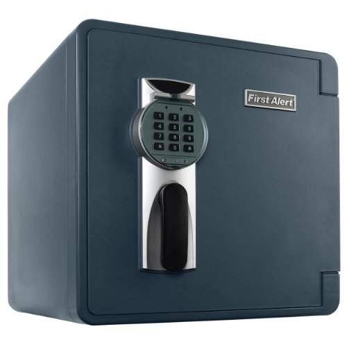 First Alert 2092DF-BD 1.3 Cubic Feet Bolt-Down Waterproof 1 Hour Fire Safe...