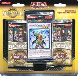 RA Yellow Mega Pack Special Edition (SE) Blister 3 Packs + Super Rare Card (Legendary Six Samurai - Shi En) (japan import)