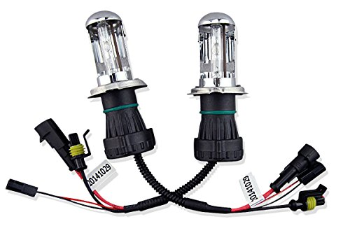 Pack Of 2 Car Rover 35w 12v H4-3 9003-3 6000k H4 Hi/Lo HID Bi Xenon Replacement Bulb (Without Relay Harness) - 6000K (9003 Hid Bulb compare prices)