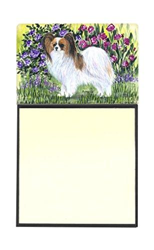 Carolines Treasures SS8839SN Pomeranian Refillable Sticky Note Holder or Postit Note Dispenser 3.25 by 5.5 Multicolor