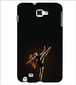 PRINTSWAG DANCING GIRL Designer Back Cover Case for SAMSUNG GALAXY NOTE 1 N7000