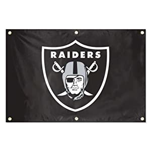 NFL Oakland Raiders 2-Foot x 3-Foot Team Banner