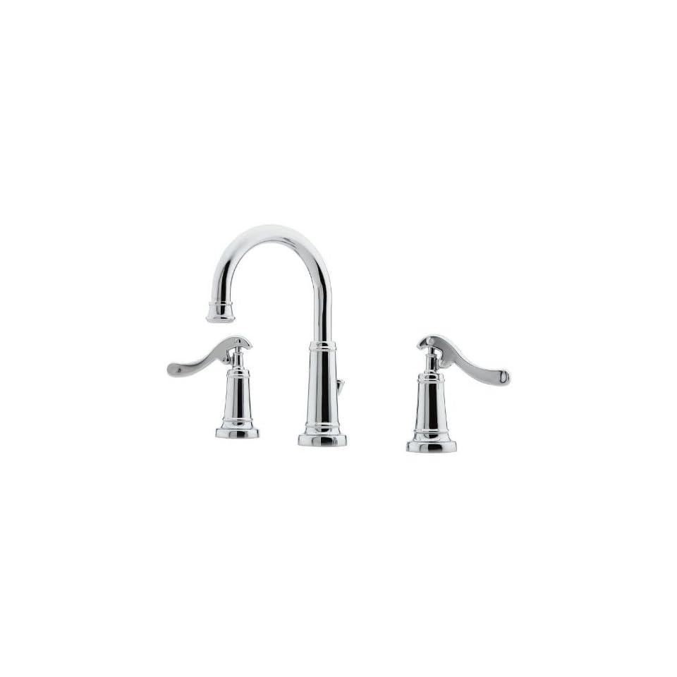 Ashfield Widespread Bathroom Sink Faucet with Country Pump Handles