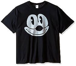 Felix the Cat Men's Big-Tall Big Face T-Shirt, Black, 4X-Large
