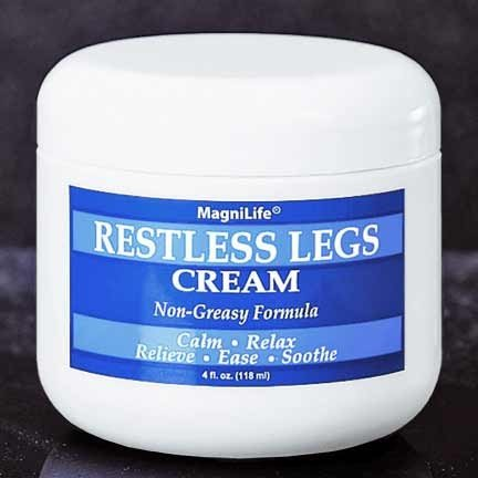 Restless Legs Cream! Don'T Let The Painful Twitching And Tingling Plague You One More Day!