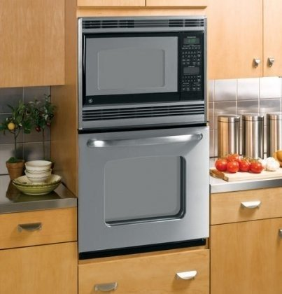 "Ge Jkp90Spss 27"" Stainless Steel Electric Combination Wall Oven"