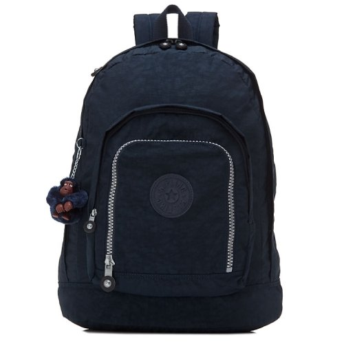 Kipling Hiker Large Expandable Backpack (True Blue)