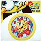 Nickolodeon Wall Clock, SpongeBob Squarepants - 8 Inches
