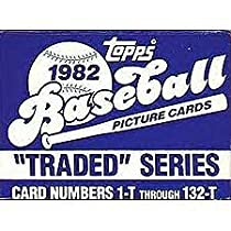 1982 Topps Traded Baseball Series Complete 132 Card Set. It Is in the Original Factory Set Box, Never Sealed As Topps Didn't Start Sealing Them Until 1992. This Set Contains the Most Sought After 1982 Cal Ripken Rookie Card #98-T!