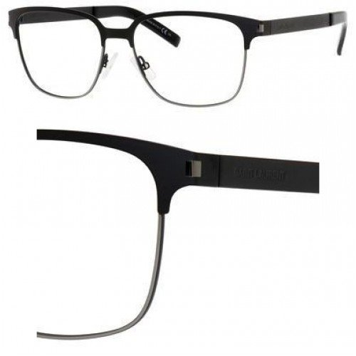 Yves Saint Laurent Yves Saint Laurent Sl 9 Eyeglasses-0832 Black/Dark Ruthenium-55mm
