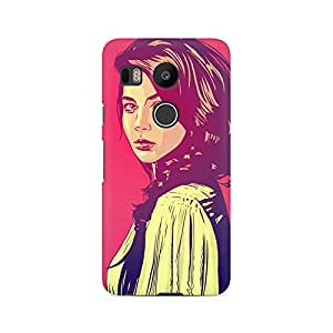 Mobicture Girl Abstract Premium Printed Case For LG Nexus 5X