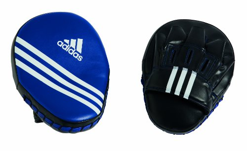 Adidas Focus Mitts PU - Black - 10