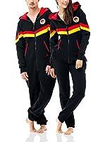 ZIPUPS Mono-Pijama World Deutschland (Negro / Rojo / Amarillo)