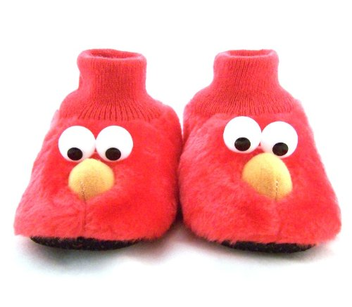 Sesame Street Elmo and Cookie Monster Sock-Top Toddler