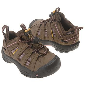 Keen Kid's Skyline WP Hiking Shoe - Pinecone/ Brandied Apricot 8 M US Toddler