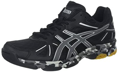 ASICS Women's GEL-Flashpoint Shoe,Black/Charcoal/Silver,6.5 M US