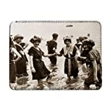 Edwardian Swimming - iPad Cover (Protective Sleeve) - Art247 - IPads 1 And 2