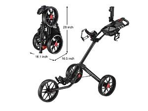 Caddytek Super Deluxe Quad Fold Golf Cart from CaddyTek