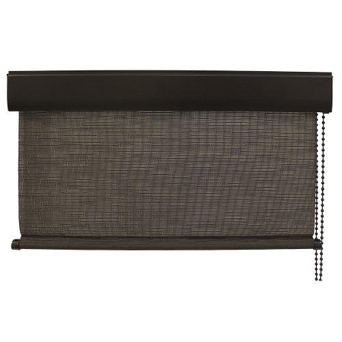 Keystone Fabrics Corded Exterior Solar Shade, 10-Feet by 8-Feet, Kona (Outdoor Bamboo Shades Roll Up compare prices)