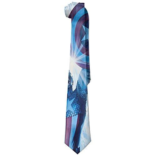 MDSHOP Men's Captain America With Shield Necktie Skinny Ties / New Novelty Necktie (Bow Tie Captain America compare prices)