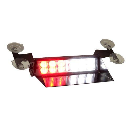 Lamphus Solarblast 12W Led Ems Emt Emergency Vehicle Windshield Dash Strobe Warning Light ( Other Color Available ) - Red White