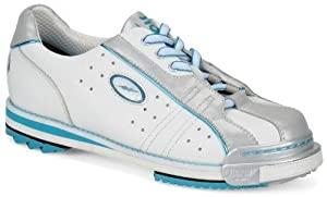 Storm Women's SP2 601 Wide Width Bowling Shoes, White/Silver, 7.5