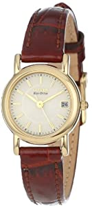 "Citizen Women's EW1272-01P ""Eco-Drive"" Gold-Tone Stainless Steel Watch"