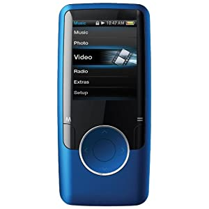 Coby 4 GB Video MP3 Player with FM Radio (Blue)