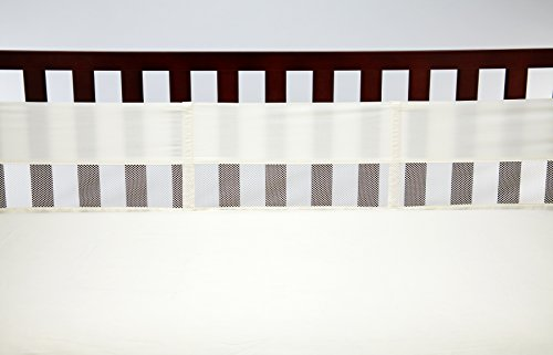 NoJo Crib Liner, Ivory - 1