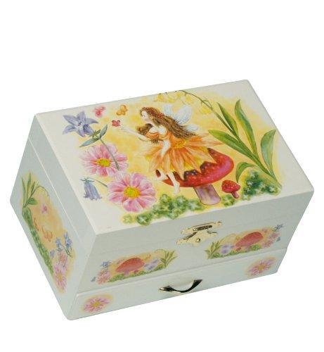 Musicboxworld Jewellery Box Fairy Playing