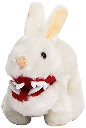 Toy Vault Mini Rabbit Plush with Big Pointy Teeth Plush - 1