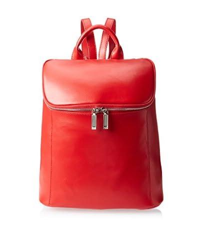 Zenith Women's Bucket Backpack, Red