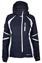 Mountain Warehouse Arosa Extreme Womens 3 in 1 Ski Jacket Navy 12
