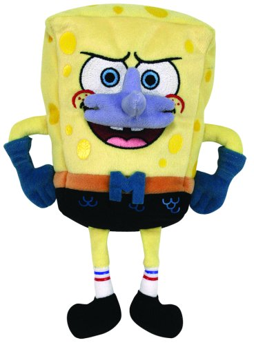 TY Beanie Babies SpongeBob Mermaidman Amazon.com