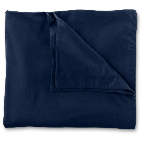 Eddie Bauer 5.4 Oz. Flannel Solid Duvet Cover,
