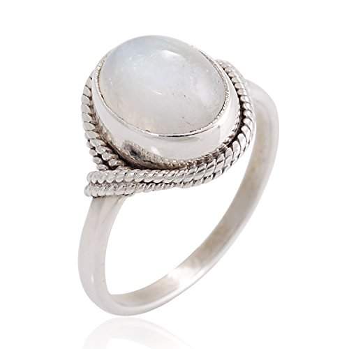 925-sterling-silver-white-moonstone-gemstone-oval-rope-edge-vintage-band-ring-size-8