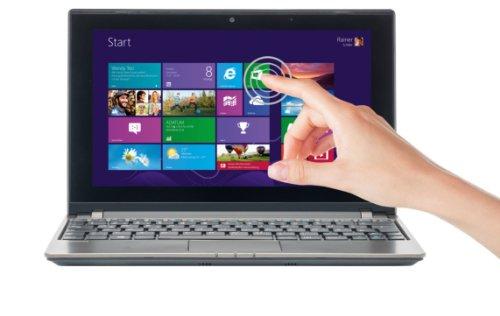 MEDION AKOYA E1317T (MD 98449) 25,4 cm (10 Zoll) Multitouch Notebook (AMD A4-1200 APU, 1GHz, 2GB RAM, 500GB HDD, AMD Radeon HD 8180 Grafik, Win 8.1) titan