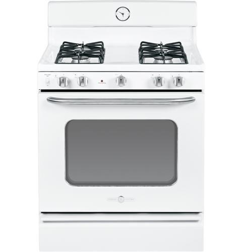 GE-AGBS45DEFWS-Artistry-30-White-Gas-Sealed-Burner-Range
