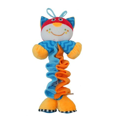 Stretch The Cat Plush Toy With Music