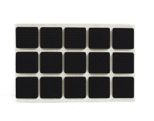 Jpm 4 Variation Self Adhesive Black Square Foam Table