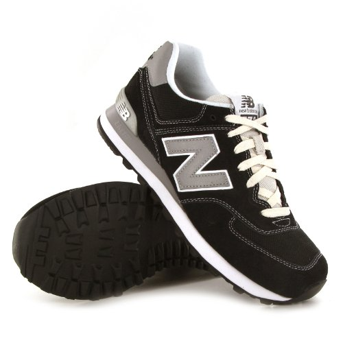 UK Sale: Buy New Balance Classic 574 Black Mens Trainers