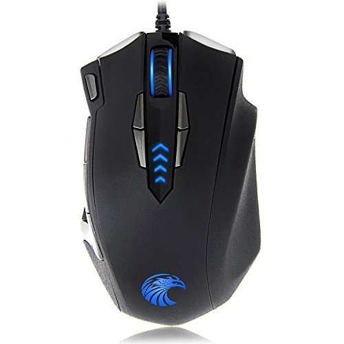 EUASOO-Z-7900-4000-DPI-Metal-Base-MMOFPS-High-Precision-Optical-Gaming-Mouse