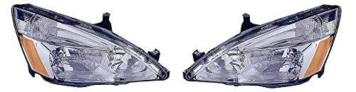 03 04 05 06 07 Honda Accord Headlamp Headlight Pair Set Driver and Passenger (05 Accord Headlight Assembly compare prices)